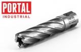 Корончатые сверла по металлу из быстрорежущей стали Portal HSS L80
